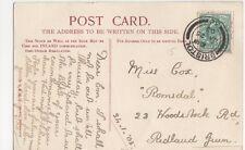 Miss Cox, 23 Woodstock Road, Redland Green 1905 Postcard, B276