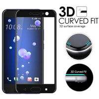 Premium 3D Curved Full Tempered Glass Coverage Film Protector For HTC U11 5.5inc