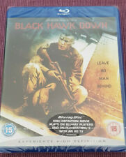 Black Hawk Down (2001) - Ridley Scott - UK Bluray  (New, Sealed)