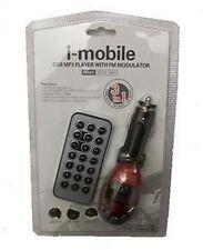 CAR MP3 PLAYER TRANSMITTER IN RED UK SELLER *NEW*
