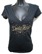 T-shirt Denny Rose maglietta Nera NEW 08 Taglia S, M, L