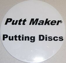 Putt Maker Putting Discs 4-pack V2- Golf Training Aid - Portable Putting Targets