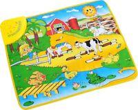 Kids Baby Child Farm Animal Musical Music Touch Play Singing Gym Carpet Mat Toy