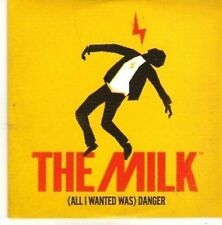 (BZ248) The Milk, (All I Wanted Was) Danger - 2011 DJ CD
