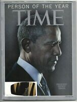 Time Magazine 2012 December 31 / 2013 January 7 - Person of the Year - OBAMA