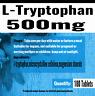 L-Tryptophan 500mg VEGAN, SEROTONIN, SLEEP AID, RELAX With TryptoPure x 180 Tabs