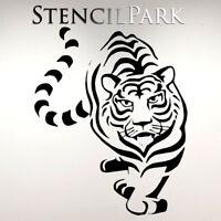 A5 A4 A3 Reusable Craft Stencil Furniture Walls Tiger Kids Decor 021