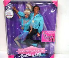 Barbie Dolls BARBIE & KEN OLYMPIC USA SKATER BRAND NEW
