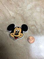 Vintage Mickey Mouse Walt Disney Prod. Plastic Lapel Pin Pinback by Monogram
