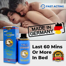NEW SUPER VIGA 150000 GERMAN NATURAL PREMATURE EJACULATION SEX DELAY SPRAY LONG