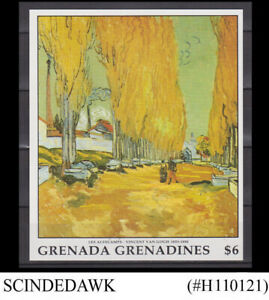 GRENADA GRENADINES  - 1991 VINCENT VAN GOGH PAINTING - MIN/SHT MNH