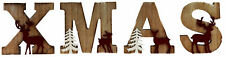Wooden Shabby Chic XMAS Christmas Letters / Ornamental Decoration