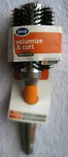 Goody Volumize & Curl Style Round Damp Hair Brush Ceramic Ionic Wood Drying