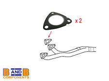 BMW E36 E34 E39 EXHAUST MANIFOLD TO DOWN PIPE GASKETS x 2 18301716888 A689