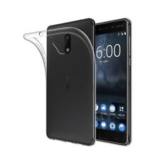 Flexible Soft Gel Anti-Scratch Ultra Thin Case Cover For Nokia 7 Plus Clear New