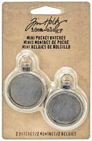 Tim Hotlz Idea-ology Mini Pocket Watches Small Dimensional Metal Lockets