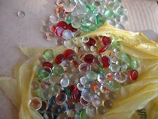 Decorative Glass Flat Bottom Marbles 1+Pound