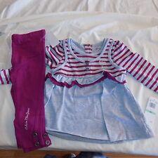 Calvin Klein Girls 2 Piece Set Size 18 Months