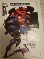 Superman Batman FCBD #1 2006 Signed by artist, Ed McGuinness