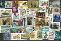 Russia stamps 500 all different  stamps collection