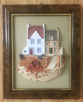 LILLIPUT LANE Wall Plaque The Scottish Collection FIFE NESS 1989 VINTAGE W/BOX