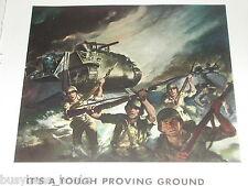 1943 General Motors Diesel ad, tanks Landing assault