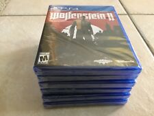 Wolfenstein II: The New Colossus (Sony PlayStation 4, 2017) PS4 NEW