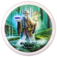 å¹³ Gateway Wizard Mike Barnard Full Color Series 2 Disc Golf Putter Approach Disc