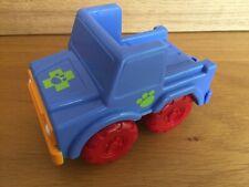 Blue Plastic Tow Truck Animal Hospital Kids Plastic Toy
