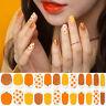 [GELATO FACTORY] Hatto Hatto Fit Nail Sticker / #Orangeade