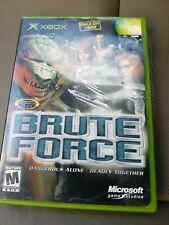 Brute Force (Microsoft Xbox, 2003) Complete In Box CIB FREE SHIPPING