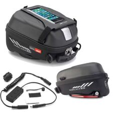 GIVI ST605 cubredepósito 5l Bolsa de depósito motocicleta, Soporte Teléfono & 3