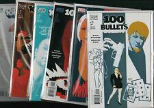 Vertigo Comics '100 BULLETS'  #23 #24 #25 #26 #27 #29 2001  NM Ref:F2.107