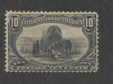 1898 Us Stamp #290 10c Mint F/Vf Regummed Catalogue Value $100