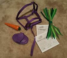 ACCESSORIES FURREAL PURPLE HALTER, CARROT BRUSH &MANUAL BUTTERSCOTCH SMORES PONY