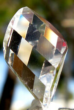 AA++ HIGH GRADE Clear Quartz Faceted Gemstone Natural Carving Crystal HEALING ~