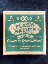 Flash Salute Unexcelled 2� Box Complete