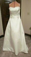Exclusive Edition Cream Wedding Strapless Dress elegant size 12 14 16