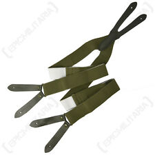 German Braces - Post War Military Army Heer Straps Suspenders Trousers Pants