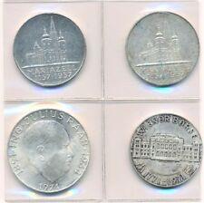 AUSTRIA 3 x 25 Y UNA SOLA VEZ 50 CHELINES monedas, MARIA Célula, MONEDERO Y Raab