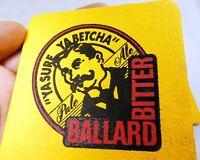 Ballard Bitter Pale Ale IPA Red Hook Bar Coaster Beer lot 3  Free Shipping USA
