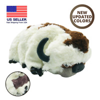 "2020 NEW Design The Last Airbender Resource 18"" Appa Avatar Stuffed Plush Doll"