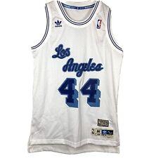 Los Angeles Lakers Legend Jerry West Medium Jersey Adidas Soul Swingman New NWT