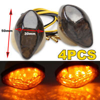 4pcs LED Flush Mount Signal Indicators Light Blinker Honda Dirt bike motorcycle