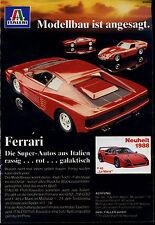 Italeri-- Ferrari--Neuheit 1988- F 40 Le Mans --Werbung von 1988--