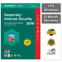 KASPERSKY INTERNET SECURITY 2019  1 PC DEVICE 1 YEAR | GLOBAL KEY! Sale ! 5.45$