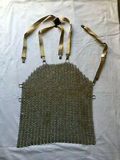 Tablier de travail boucher en cotte de maille artisan métier  vintage