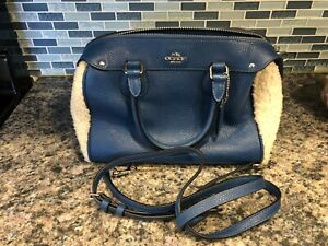 COACH Small Pocketbook with detachable strap very gently used