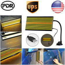 US PDR LED Line Board Light Tools Lined Reflector Paintless Dent Removal Repair