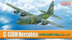 C-130H HERCULES USAF Air National Guard aircraft models 1:400 DRAGON 56297 56299